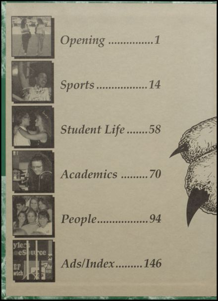 1995 Westland High School Yearbook Page 2