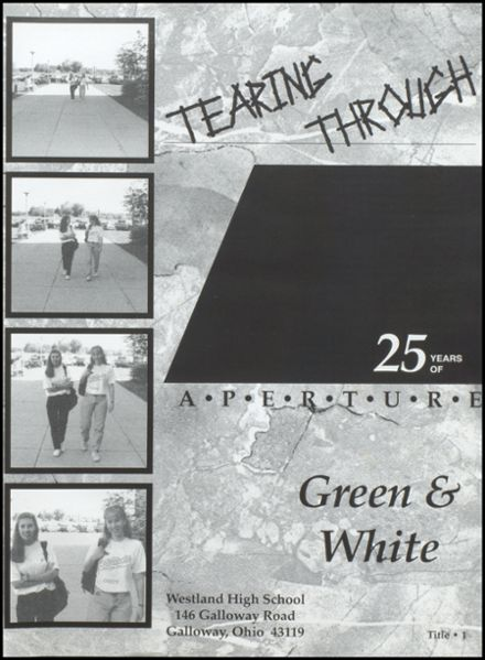 1995 Westland High School Yearbook Page 5