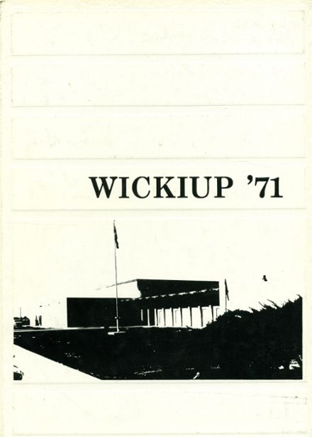 1971 Agua Fria Union High School Yearbook Cover