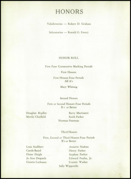 1960 Johnson High School Yearbook Page 6