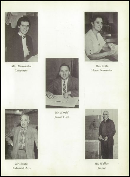 1960 Johnson High School Yearbook Page 9