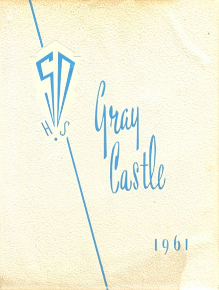 1961 San Diego High School Yearbook Cover