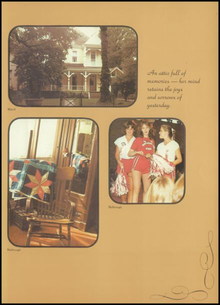1980 Riverdale High School Yearbook Page 9