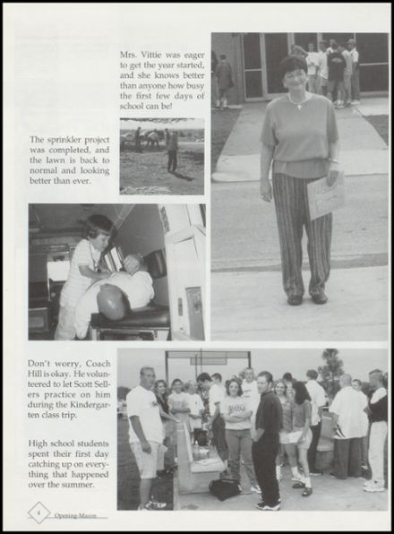 1999 Kingston High School Yearbook Page 8