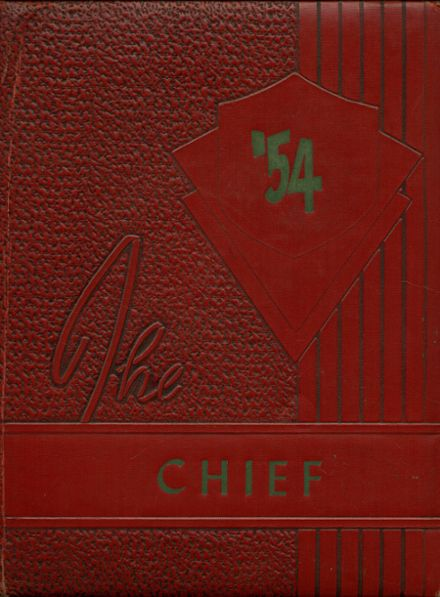1954 Case High School Yearbook Cover