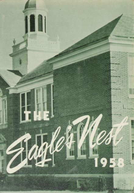 1958 Lord Baltimore High School Yearbook Cover