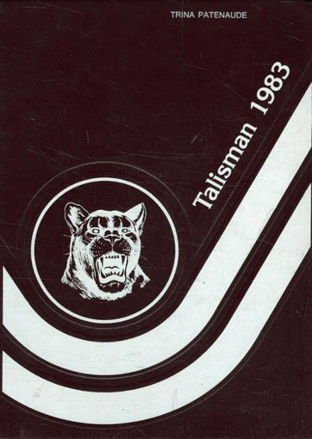 1983 Northeastern Clinton High School Yearbook Cover