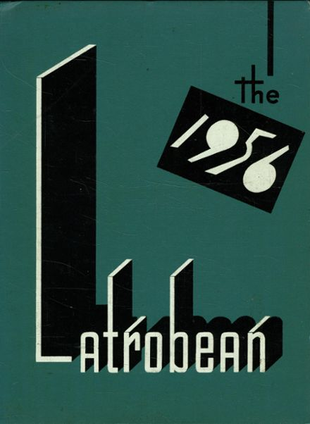 1956 Greater Latrobe High School Yearbook Cover