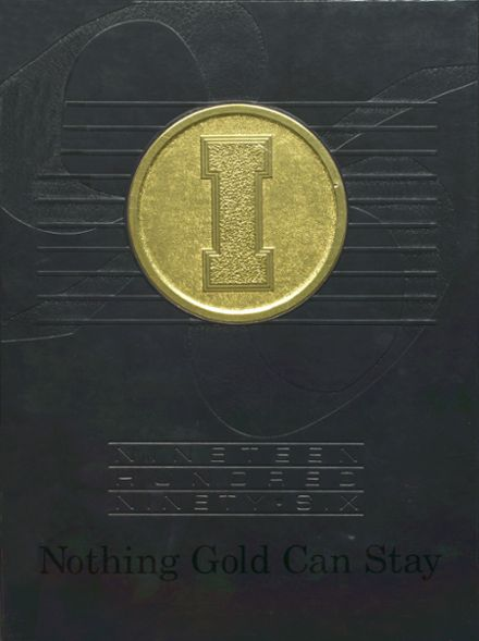 1996 Incline High School Yearbook Cover