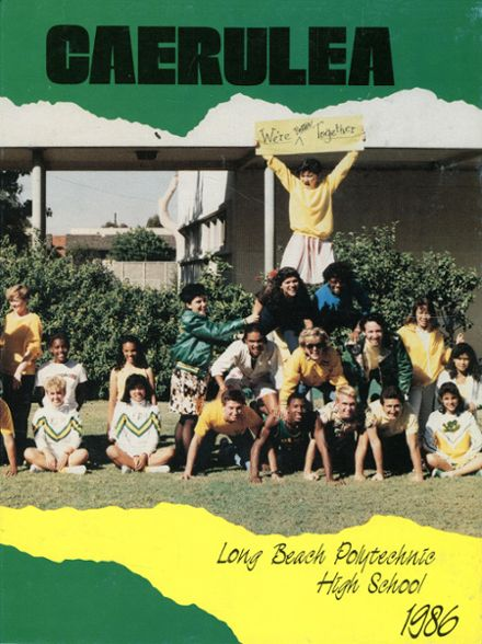 1986 Long Beach Polytechnic High School Yearbook Page 1
