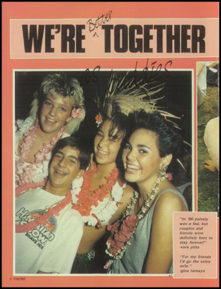 1986 Long Beach Polytechnic High School Yearbook Page 6