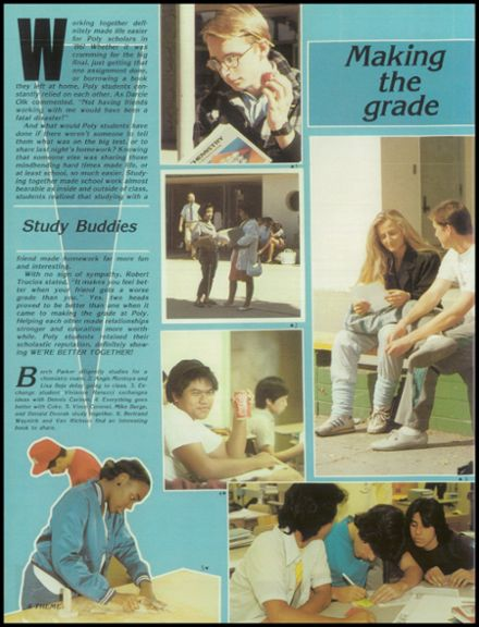 1986 Long Beach Polytechnic High School Yearbook Page 8