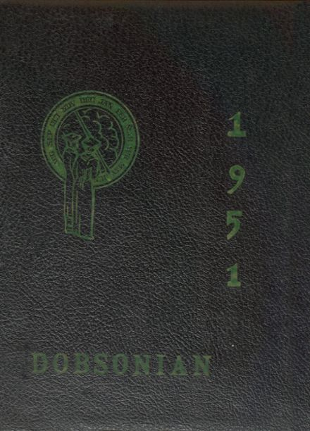 1951 Dobson High School Yearbook Cover