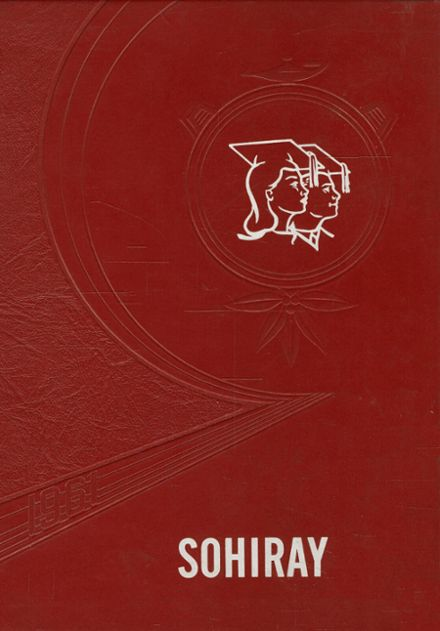 1961 Ayersville High School Yearbook Cover