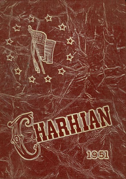 1951 Charlotte High School Yearbook Cover