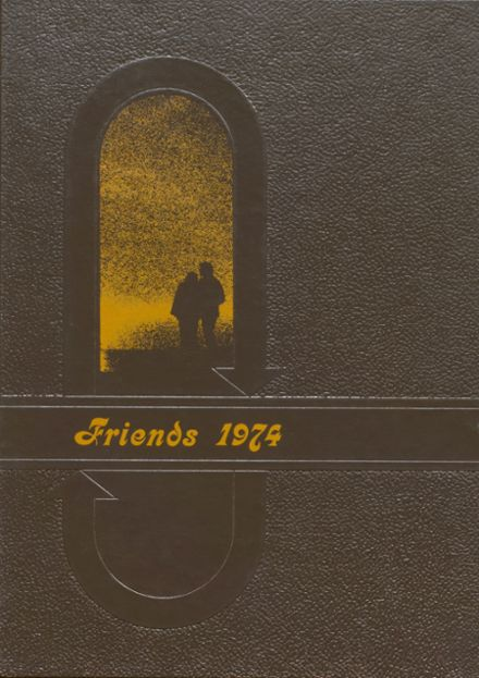 1974 Valentine High School Yearbook Cover