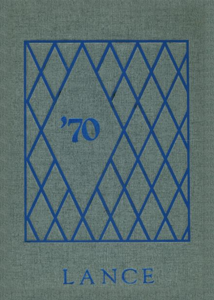 1970 Knoch High School Yearbook Cover