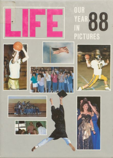 1988 Ider High School Yearbook Cover