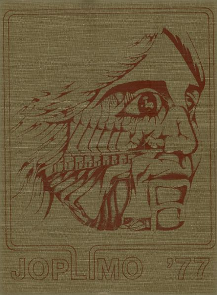 1977 Parkwood High School Yearbook Cover