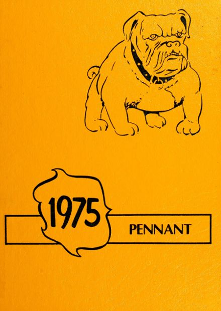 1975 Pennville High School Yearbook Cover