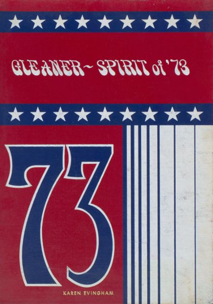 1973 Oswayo Valley High School Yearbook Cover