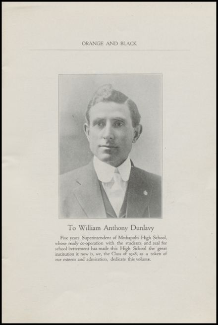 1918 Mediapolis High School Yearbook Page 5