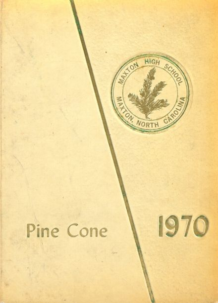 1970 Maxton High School Yearbook Cover
