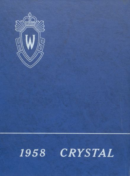 1958 Waupaca High School Yearbook Cover