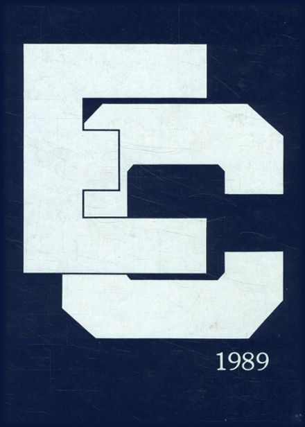 1989 Ecole Classique High School Yearbook Cover