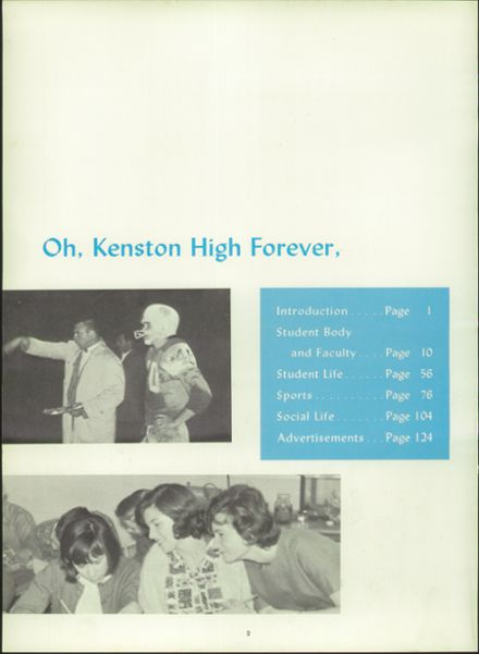 1965 Kenston High School Yearbook Page 6
