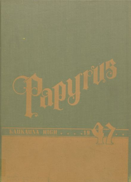 1947 Kaukauna High School Yearbook Cover