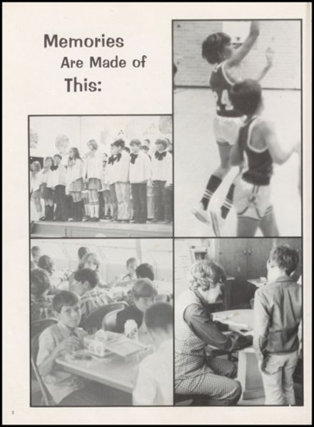 1973 Harmony Grove High School Yearbook Page 6