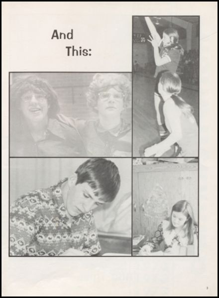 1973 Harmony Grove High School Yearbook Page 7