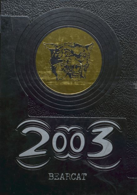 2003 Bentworth High School Yearbook Cover