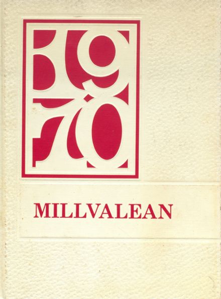 1970 Millvale High School Yearbook Cover