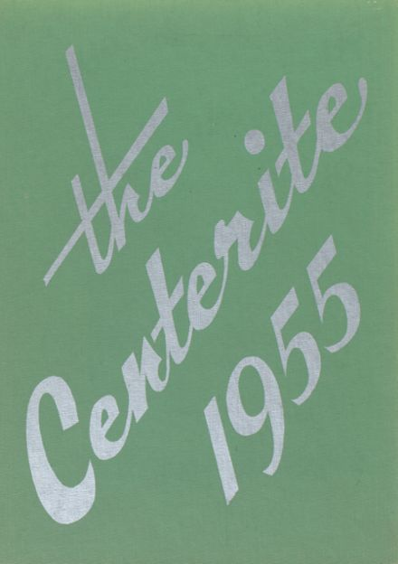 1955 Dodge Center High School Yearbook Cover