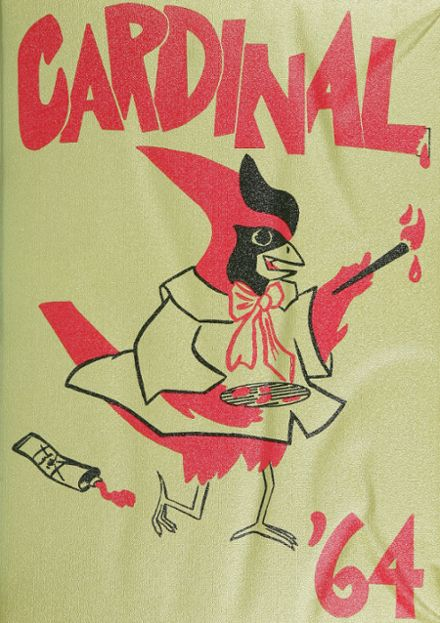 1964 Glendale High School Yearbook Cover
