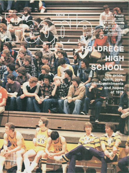 1979 Holdrege High School Yearbook Cover