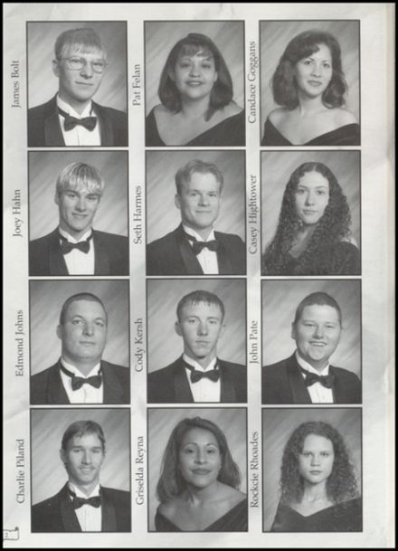 2001 Lometa High School Yearbook Page 6