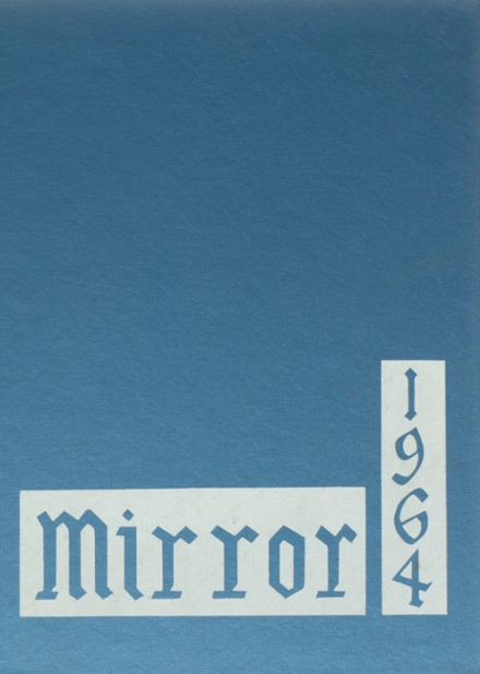 1964 Memorial High School Yearbook Cover