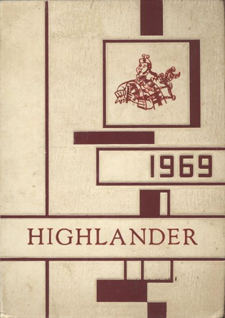 1969 Southern Garrett County High School Yearbook Cover
