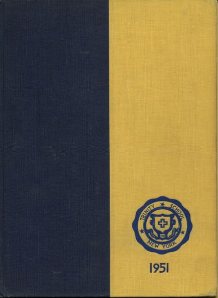 1951 Trinity School Yearbook Cover
