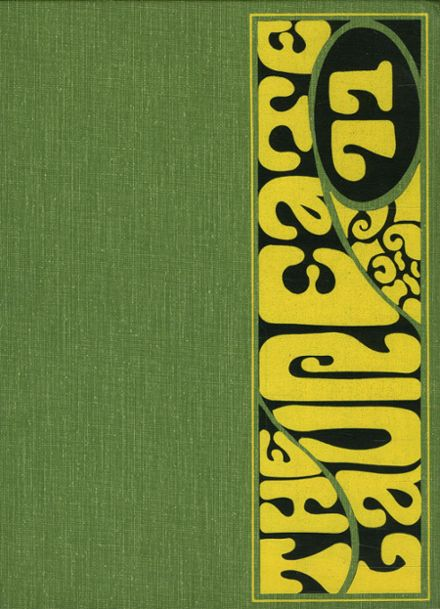 1971 Brown High School Yearbook Cover