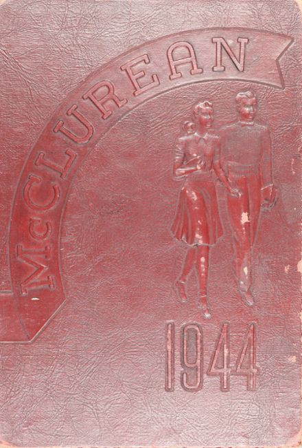 1944 McClure High School Yearbook Cover
