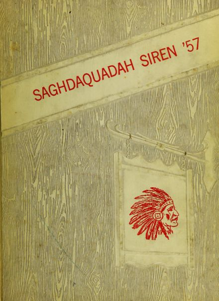 1957 Sauquoit Valley Central High School Yearbook Cover
