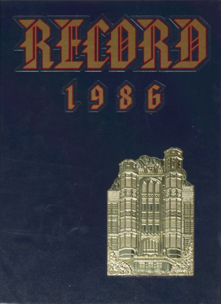 1986 Frankford High School Yearbook Cover