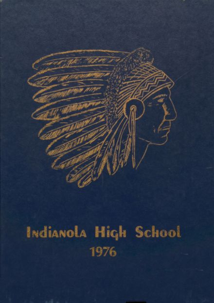 1976 Indianola High School Yearbook Cover