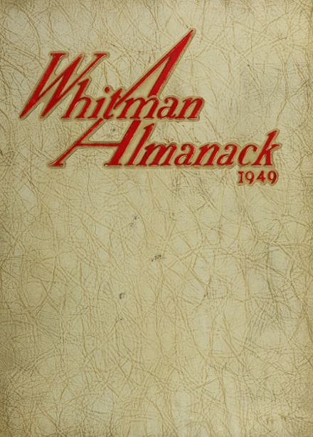 1949 South Huntington High School Yearbook Cover