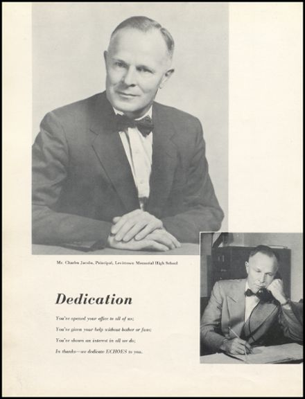 1956 Levittown Memorial High School Yearbook Page 8