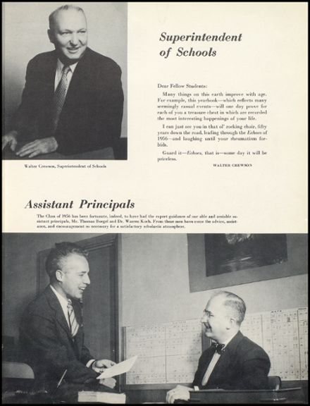 1956 Levittown Memorial High School Yearbook Page 9